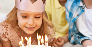 Harjulasta voi vuokrata tiloja lasten syntymäpäiväjuhlia varten