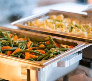 Ravintolapalvelusta voi tilata pitopalvelun saunailtaan