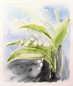 maalaustöitä esillä Harjulan kansalaisopiston kevätnayttelyssä