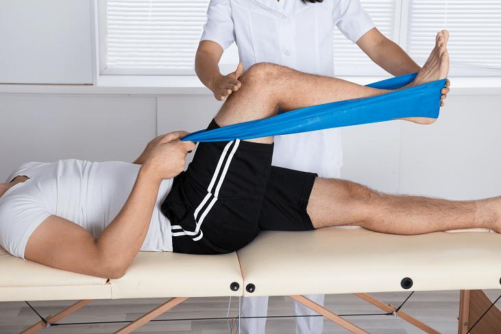 liikunta - fysioterapia -kuntoutus -polvi