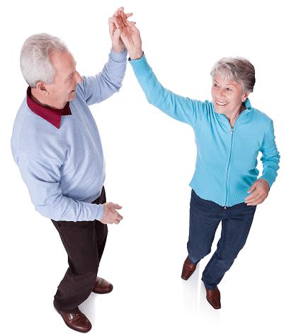 tanssi - seniori - pappa - mummo - liikunta