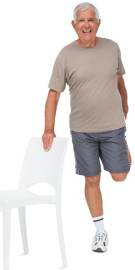 venyttely - pappa - liikunta - tuolijumppa - elakelainen