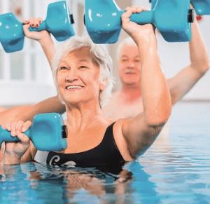 vesijumppa - liikunta - seniori