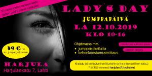 Harjulassa järjestettiin lokakuussa Naisten jumppatapahtuma Lady's Day