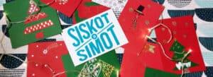 Siskot ja Simot järjestivät joulukorttipajan Harjulassa.